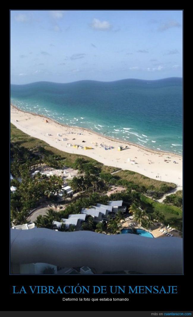 fotografía,Mar,mensaje,movil,océano,playa,smarthphone,turismo,vibracion