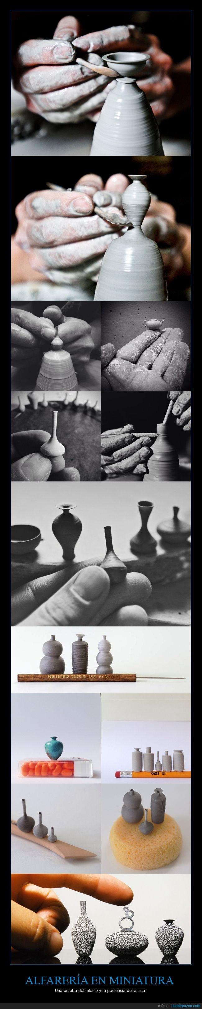 alfarería,artesanal,artista,buen pulso,frágil,Jon Almeda,miniatura,paciencia,precioso,talento,trabajo duro