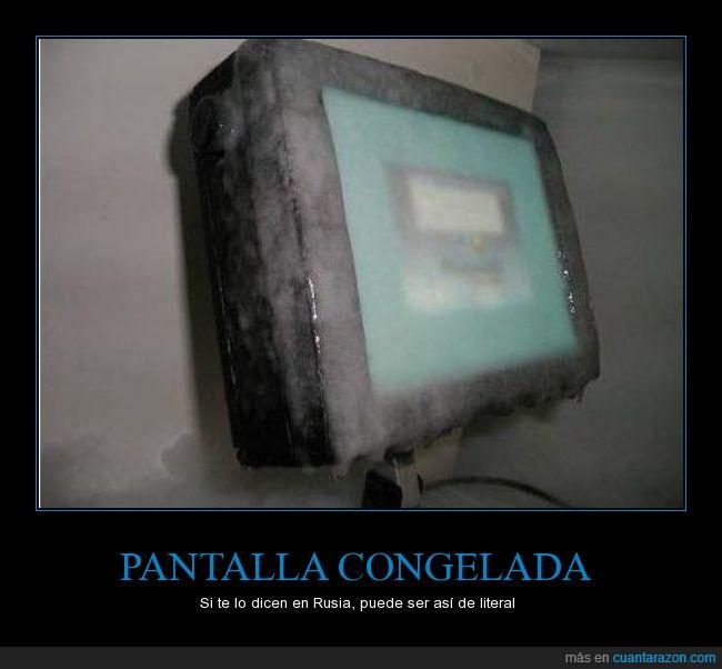 congelada,error,frio,hielo,lol,nieve,pantalla,windows