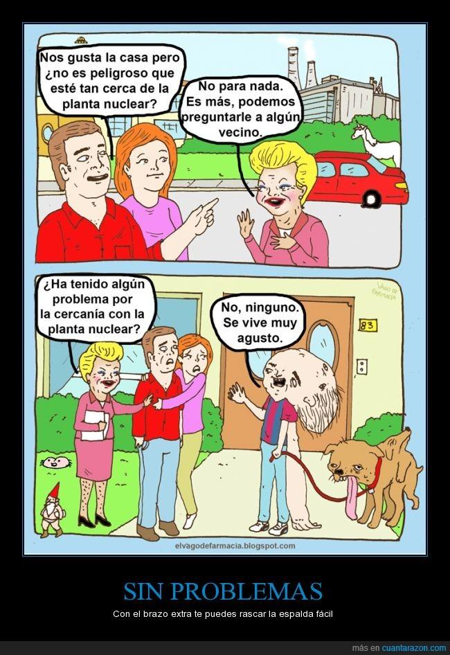 casa,central nuclear,comprar,mutacion,mutante,mutantes,perro,unicornio,vieja con piernas peludas