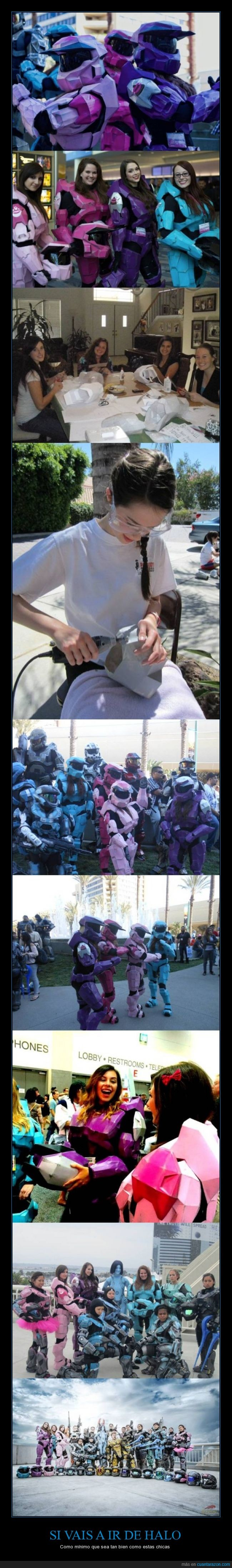 chica,color,comic con,cosplay,espartanas,falda,Halo,pastel,soldado,spartans,tono,tutu