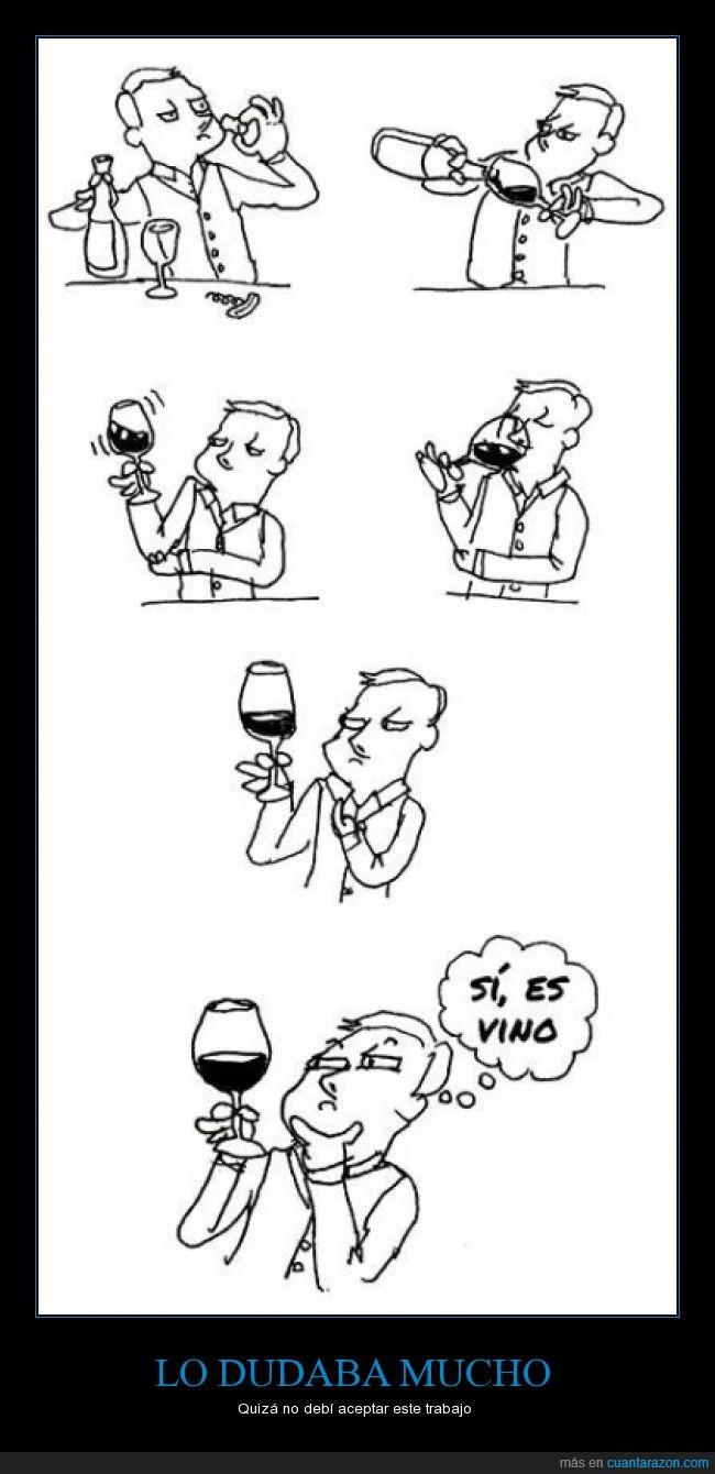 bebida,botella,catador,comic,enologo,somelier,sumiller,Vino