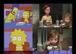Enlace a ¿Los Simpson predicen pelis o simplemente Pixar no tiene imaginación?