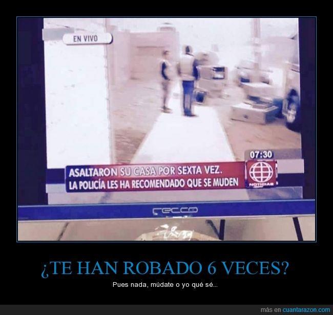 Perú,policía,rápida,robo,solución