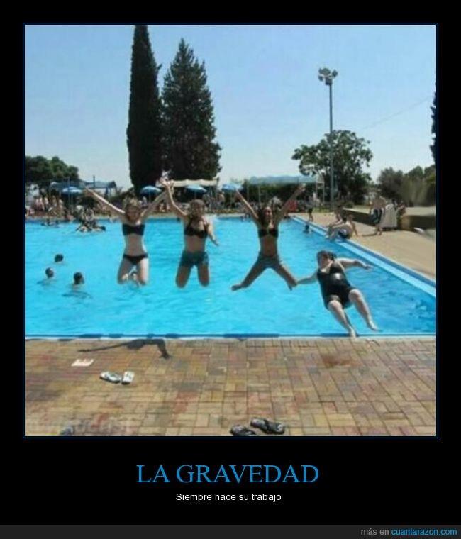 caer,caída,chica,fail,gravedad,peso,piscina,saltar,salto