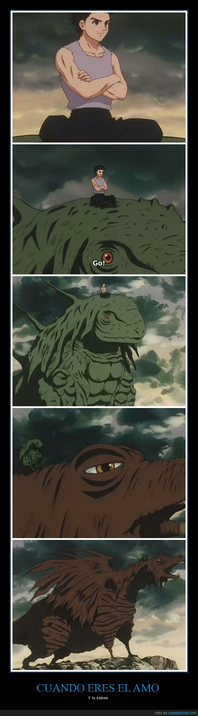 Amo,anime,gigante,monstruos