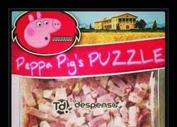 Enlace a EL PUZZLE DE PEPPA PIG
