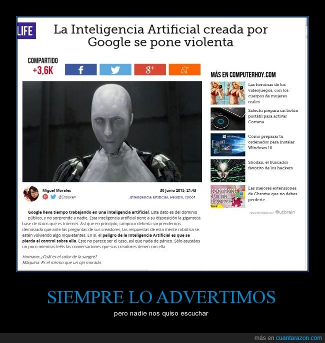 google,inteligencia artificial,yo robot