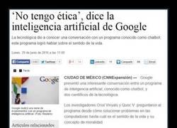 Enlace a La inteligencia artificial de Google da MUCHO MIEDO