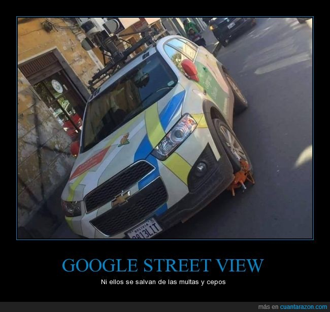 Bolivia,Google,google street view,Policia
