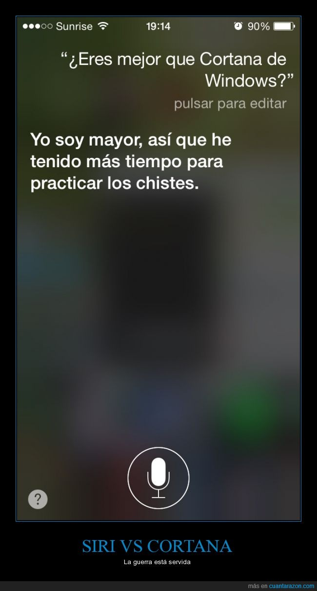 Cortana,iphone,siri,windows