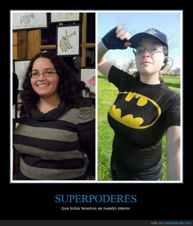 batman,cambio,deporte,motivación,peso,poderes,superación
