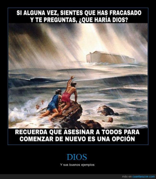 dilúvio,Dios,ejemplo,és mi primer cartel