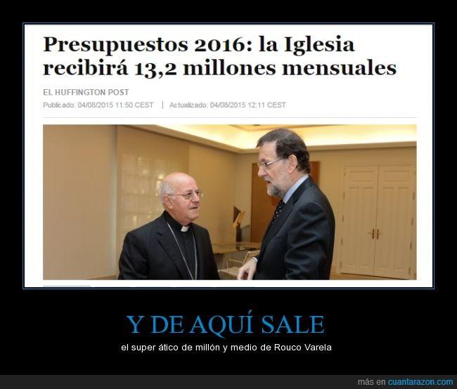 crisis,dinero,estado aconfesional,iglesia,presupuestos,recortes,religión