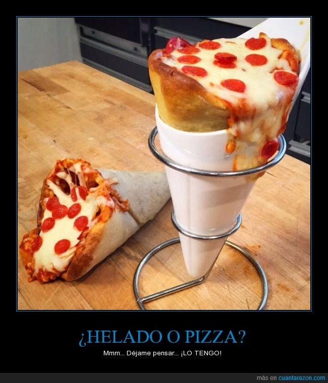 comida,hambre,Helado,pizza