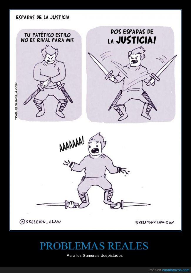 cómic,cortar,Espada,manos