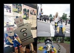 Enlace a ¿Recogerías a un robot que está haciendo autostop?