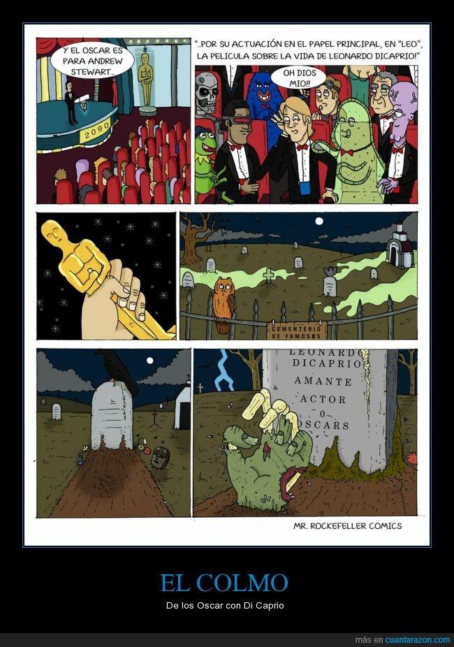 dicaprio,ganar,muerto,Oscar,zombie