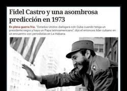 Enlace a La predicción de Fidel Castro