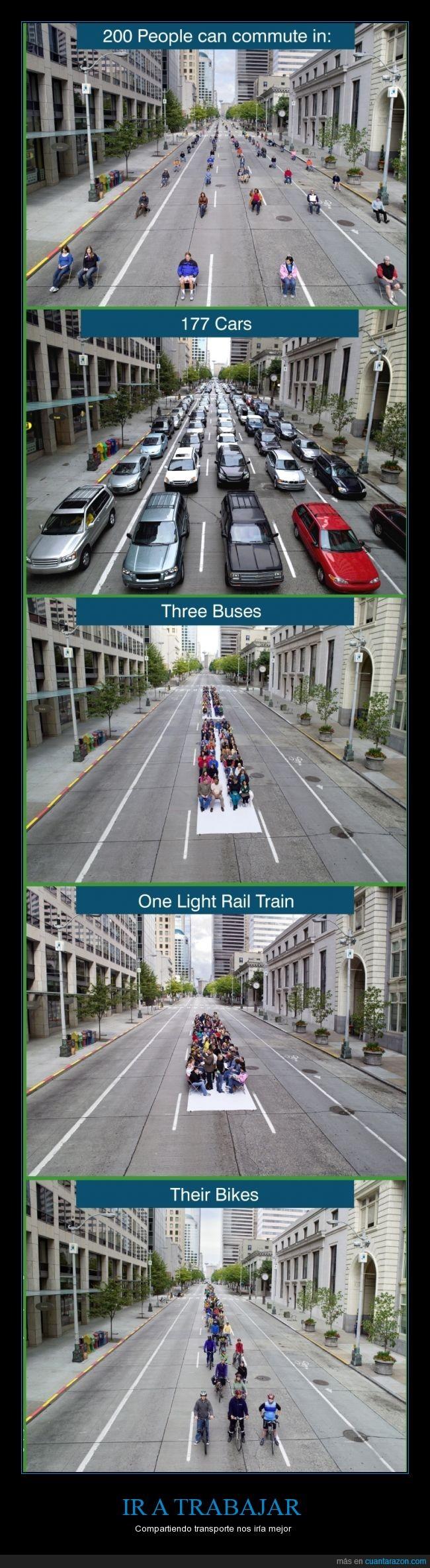 carretera,coches,compartir transporte,espacio,trabajar