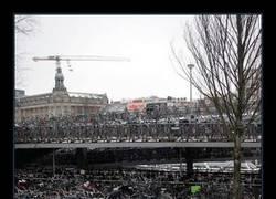 Enlace a Lo de Holanda con las bicis ya es pasarse