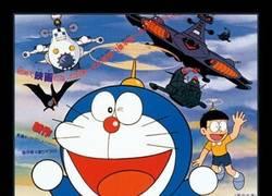 Enlace a El primer doblaje de Doraemon en México nos trae perlas como ésta