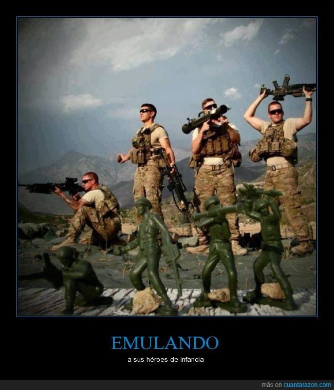 armas,juguete,juguetes,muñeco,posiciones,soldaditos,Soldados