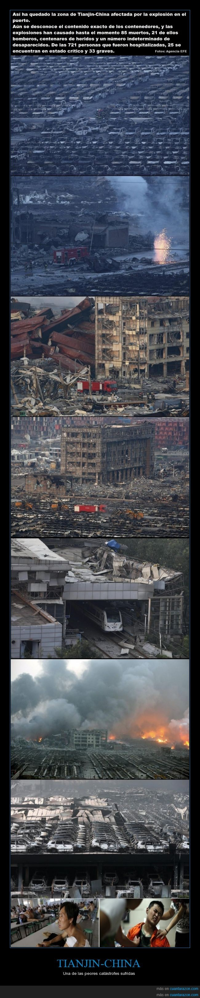 accidente,catastrofe,china,explosion,Tianjin