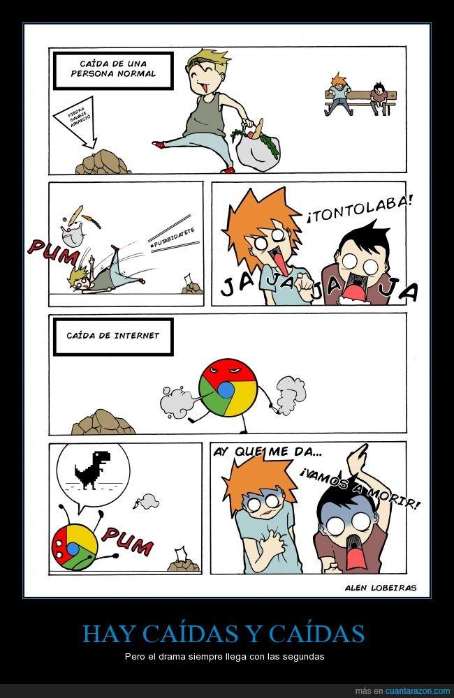 caer,caída tontas,caídas,chorradas,comic,google,internet,morir,persona
