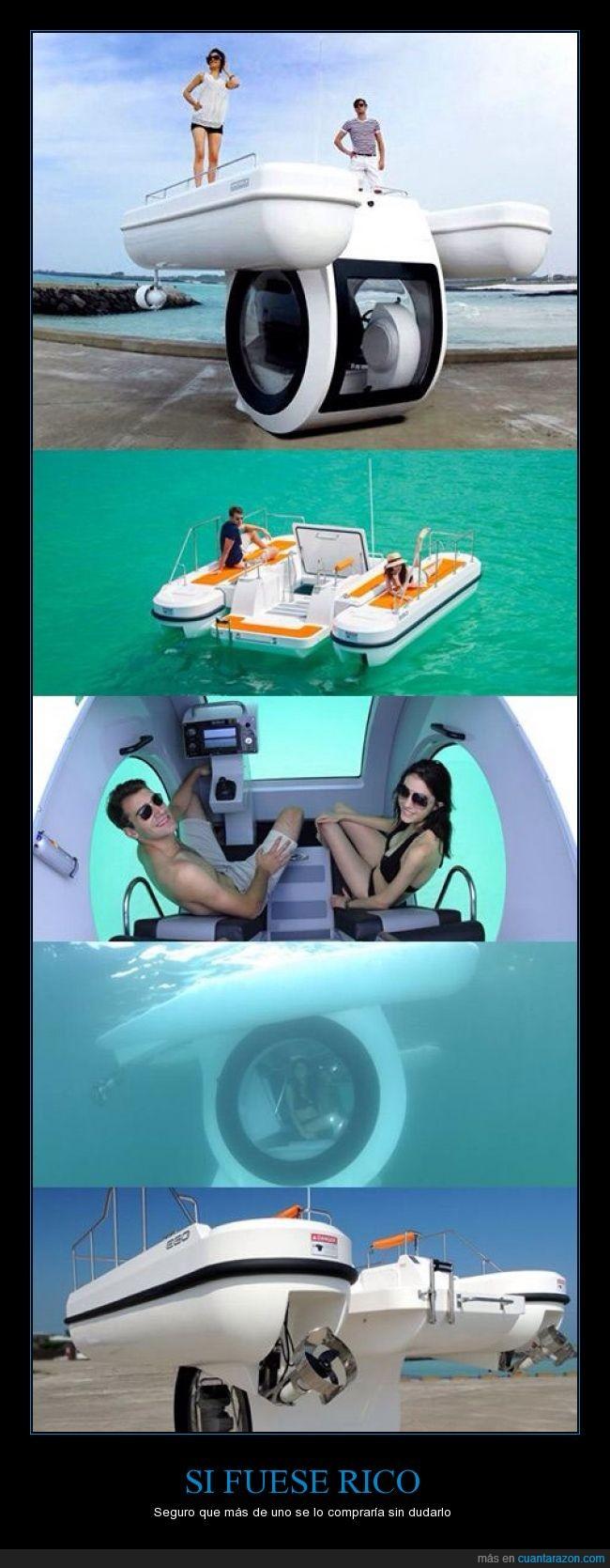 barco,buen invento,cristal,fondo,querer,submarino,ver,verano,zona
