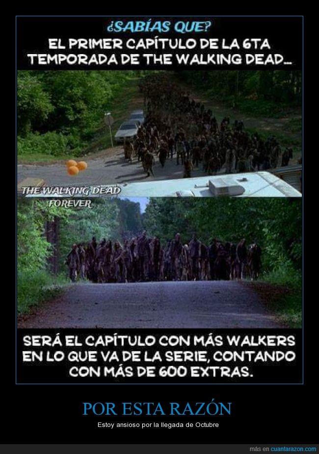 ansia,caminantes,daryl,octubre,rick,the walking dead,twd,zombie