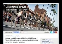 Enlace a ¡Por fin nuestro sueño de estar en el mundo Star Wars se cumplirá!