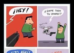 Enlace a ¡Policia dron!
