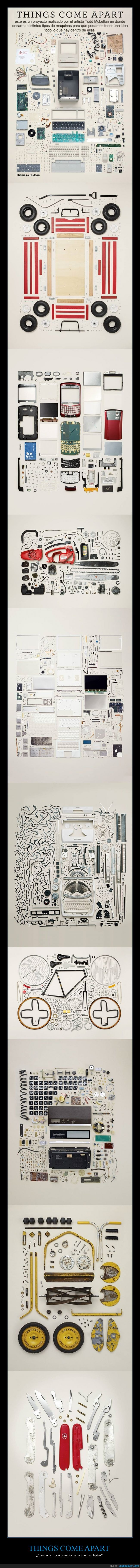 arte,cosas,desarmadas,desmontar,fotografía,pieza,Things,Todd Mclellan