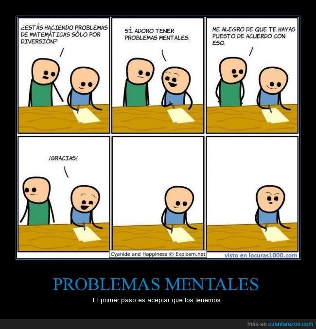 matemáticas,problema mental,yo tengo más que todos