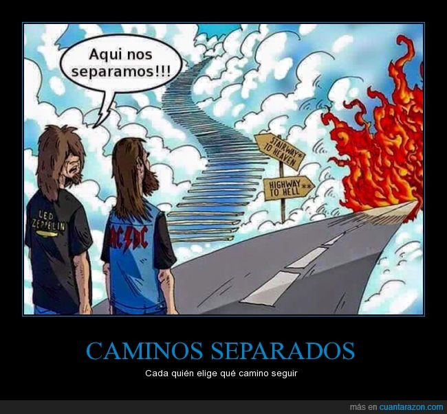 ACϟDC,camino,cielo,highway to hell to satan,infierno,Led Zeppelin,musica,stairway to heaven to god