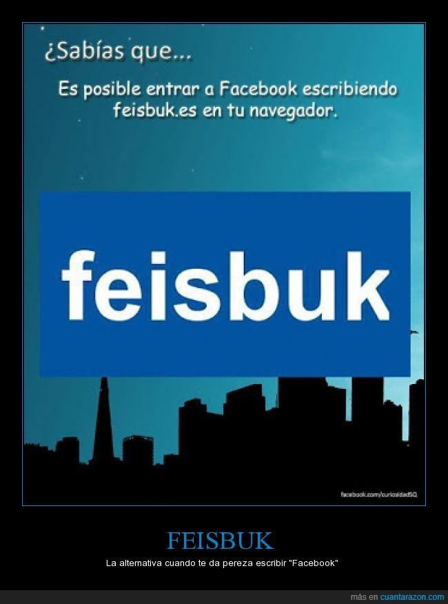 alternativa,españolizado,facebook,feisbuk,navegador,pereza