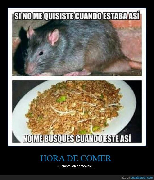 arroz,broma,china,chino,comer,comida,estereotipo,rata