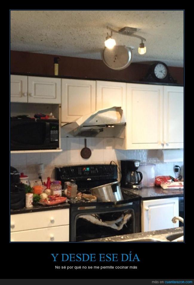 cocina,cocinar,cocinero,daños,destrozo,es una,estallar,Olla exprés,presión,romper,roto
