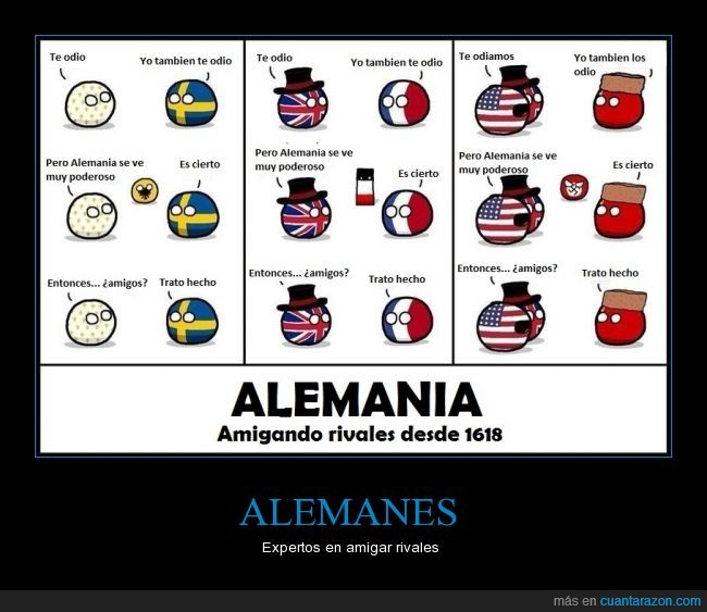 Alemania,Countryball,Estados Unidos,Franceball,HREball,Inglaterra,Nazi Germanyball,Nazis,Reichtangle,Rusia,Swedenball,UKball,USAball,USSRball