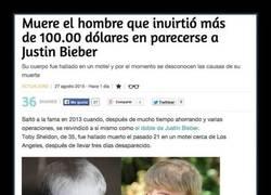 Enlace a Muere el ''Justin Bieber'' operado
