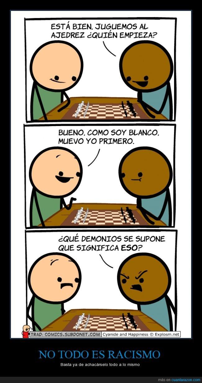 ajedrez,blancas,blanco,empezar,negro,pieza,primero,sacar