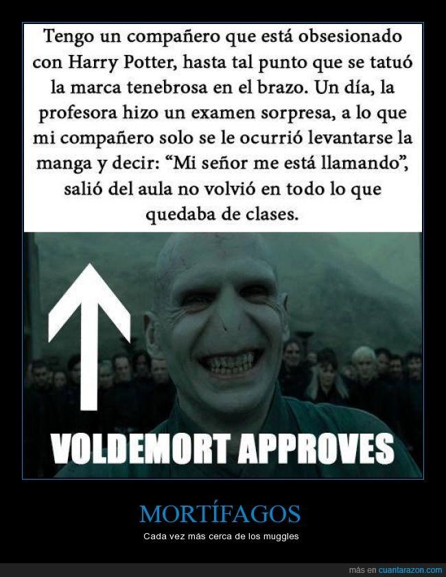 clases,Harry Potter,marca tenebrosa,mortífagos,Voldemort