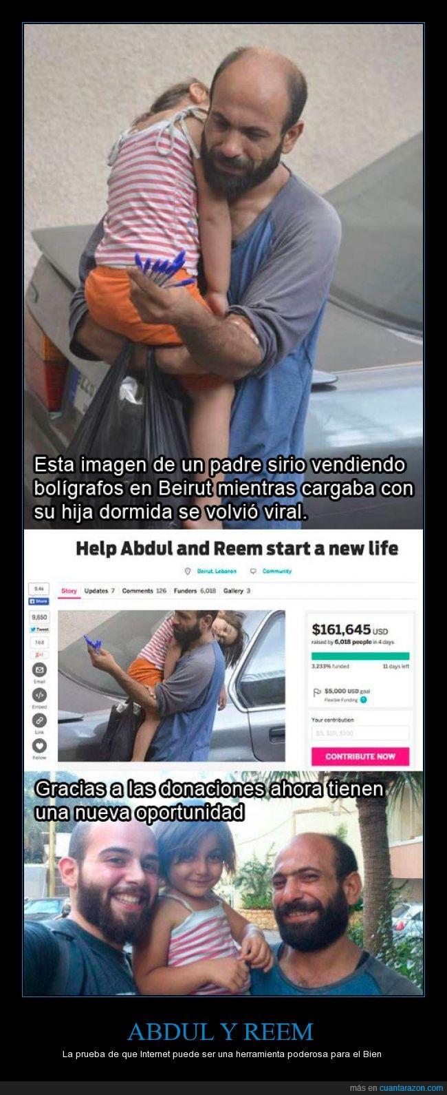 Abdul,beirut,boligrafos,donación,hija,padre,recolecta,Reem,siria,vender