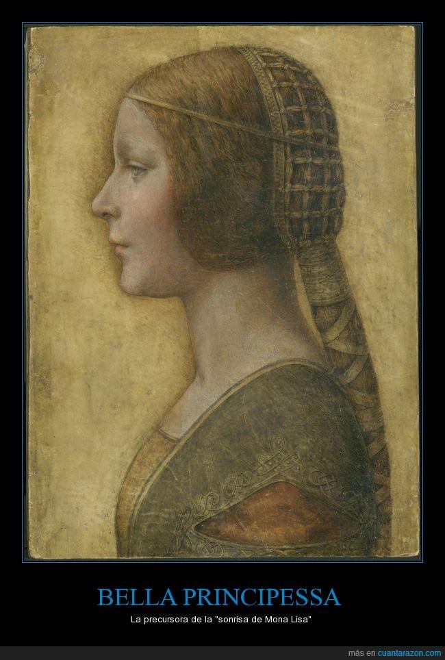 Bella Principessa,Leonardo Da Vinci,Mona Lisa,Renacimiento