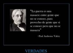 Enlace a Paul Ambroise Valery nos habla de la guerra