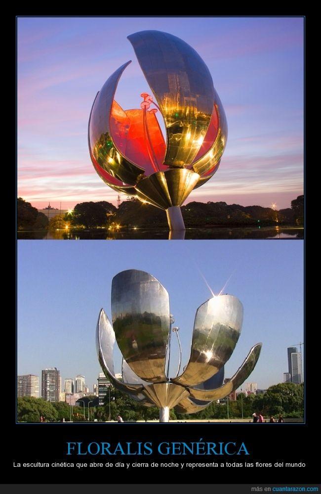 argentina,buenos aires,escultura,flor,floralis generica