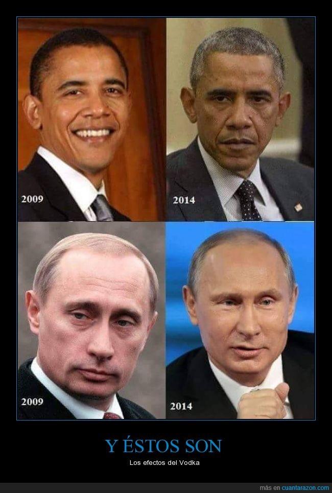 casa blanca,Kremlin,Obama,Putin,Rusia,USA,Vodka
