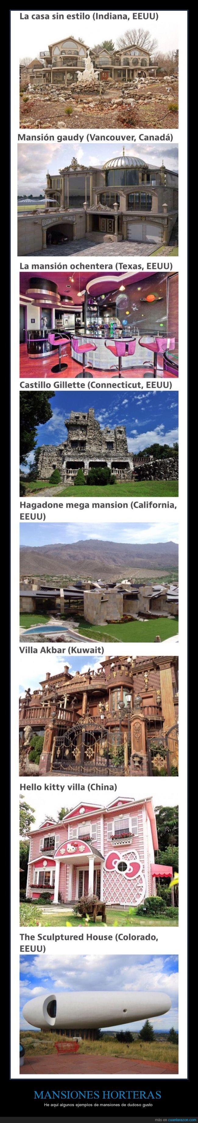 arquitectura,casa,fea,hortera,Mansión,Nicolás cage no aprueba estas mansiones,ochentera,poco divino