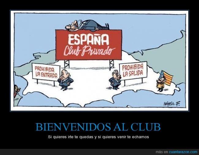 admisión,africa,Cataluña,club privado,entrada,España,independencia,inmigracion,inmigrantes,prohibido,prohibir,salida